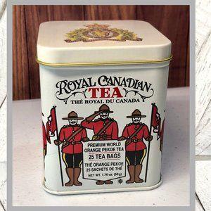 Vntg Royal Canadian Tea Tin